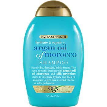 Organix Renewing Plus Argan Oil of Morocco Shampoo 13 Fluid Ounces
