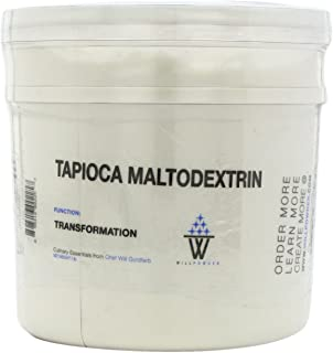 WillPowder Tapioca Maltodextrin, 1-Pound Tubs
