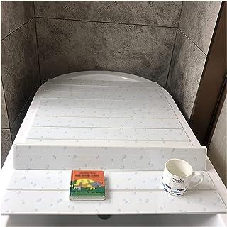 ZHANWEI 浴槽カバー 防塵ボード 風呂ふた,多機能 防塵、防塵 バスルームの棚 断熱カバー、 PVCの厚さ0.6CM (Color : A, Size : 110x70x0.6cm)