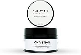 Christian Hair Studio Hydrating Gel Pomade Firm Hold 3.5oz Paraben Free, Cruelty Free & Non Greasy