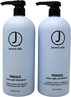 J Beverly Hills Duo Fragile Shampoo 33 Oz and Conditioner 33 Oz