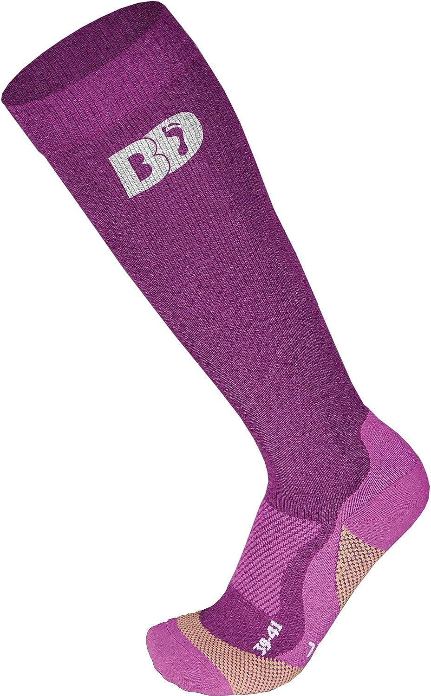 BootDoc Damen Socken Purple 7 Tech Socks