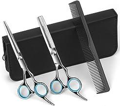 "Professional Hairdressing Scissors Set,6.7"" Hair Cutting Scissors Professional Barber Thinning Scissors,Sharp Salon Shears..."