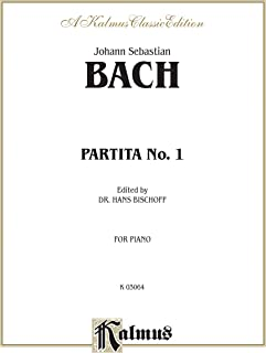 Partita No. 1 in B-flat Major (Kalmus Edition)