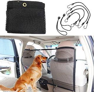 YANGKEE Pet Car Net, Yankee Car Safety Net Car Travel Pet Net Barrier Dog Net Vehicle Dog Cat Car Barrier Safety Net with ...