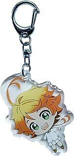 YJacuing Anime The Promised Neverland Acrylic Keychain (Emma II)