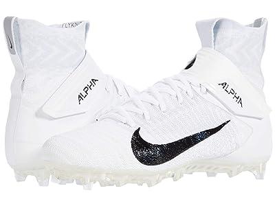 Nike Alpha Menace Elite 2 (White/Black/Wolf Grey) Men