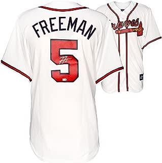 Freddie Freeman Atlanta Braves Autographed Majestic Replica White Jersey - Fanatics Authentic Certified