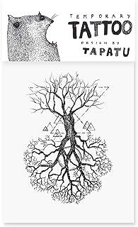 Tattoo mit Lebensbaum - Temporäre Tattoos - Aufkleber Blät
