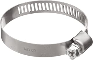 12mm 20mm Precision Brand Smooth Band Metric Worm Gear Hose Clamp Pack of 10