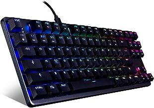 Tecware Phantom L ، صفحه کلید مکانیکی با مشخصات کم ، RGB LED ، سوئیچ قهوه ای Outemu