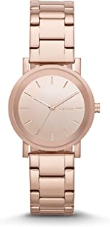 DKNY Womens Quartz Watch, Analog Display and Stainless Steel Strap NY2179
