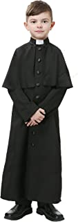 priest costume with boy attached