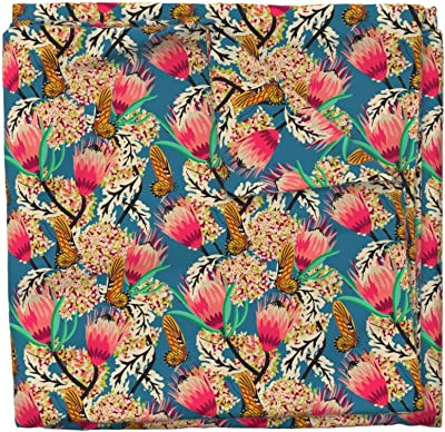 Florist Floral Jungle Petals 100/% Cotton Fabric
