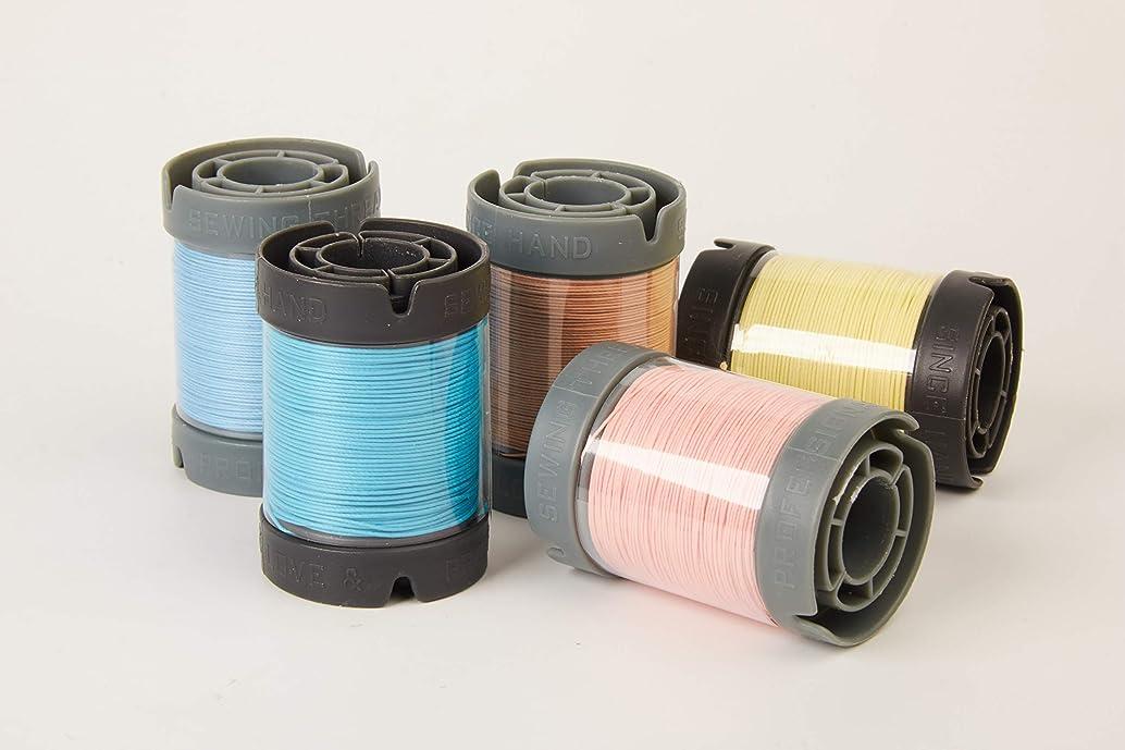 Since Leather Linen Thread for leathercraft M30/0.35MM/150M/Spool (tanqerine, M30/150M/Spool)