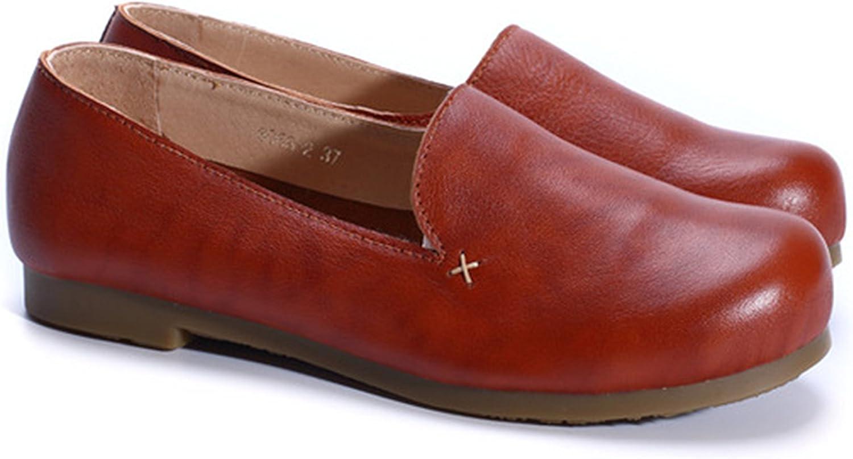 Spyman Woman shoes Flat Genuine Leather Slip On Ballerina Flats Ladies Flat shoes Spring Autumn Female Footwear