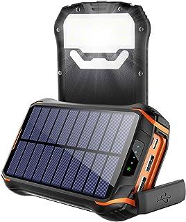 comprar comparacion Cargador Solar Portátil Power Bank Solar 268000mAh, Batería Externa Solar con Carga Rápida 3 Salidas USB y 2 Entrada USB-C...