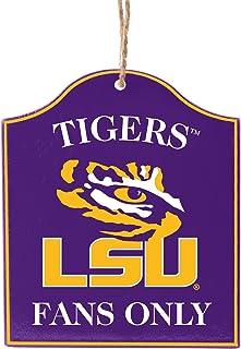 Boelter Brands NCAA Unisex-Adult NCAA Wooden Fan Sign Ornament