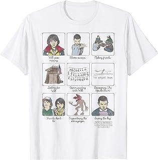 Netflix Stranger Things Story Panels T-Shirt