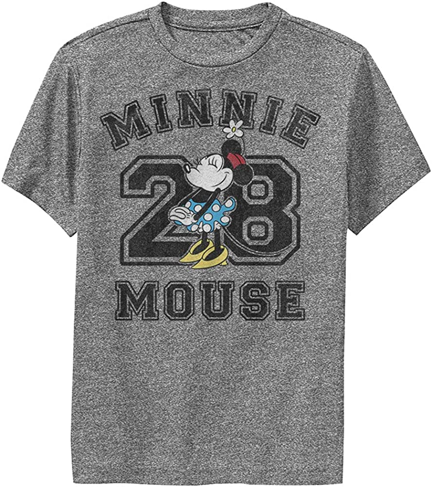Disney Characters Minnie Mouse Collegiate Boy's Performance Tee