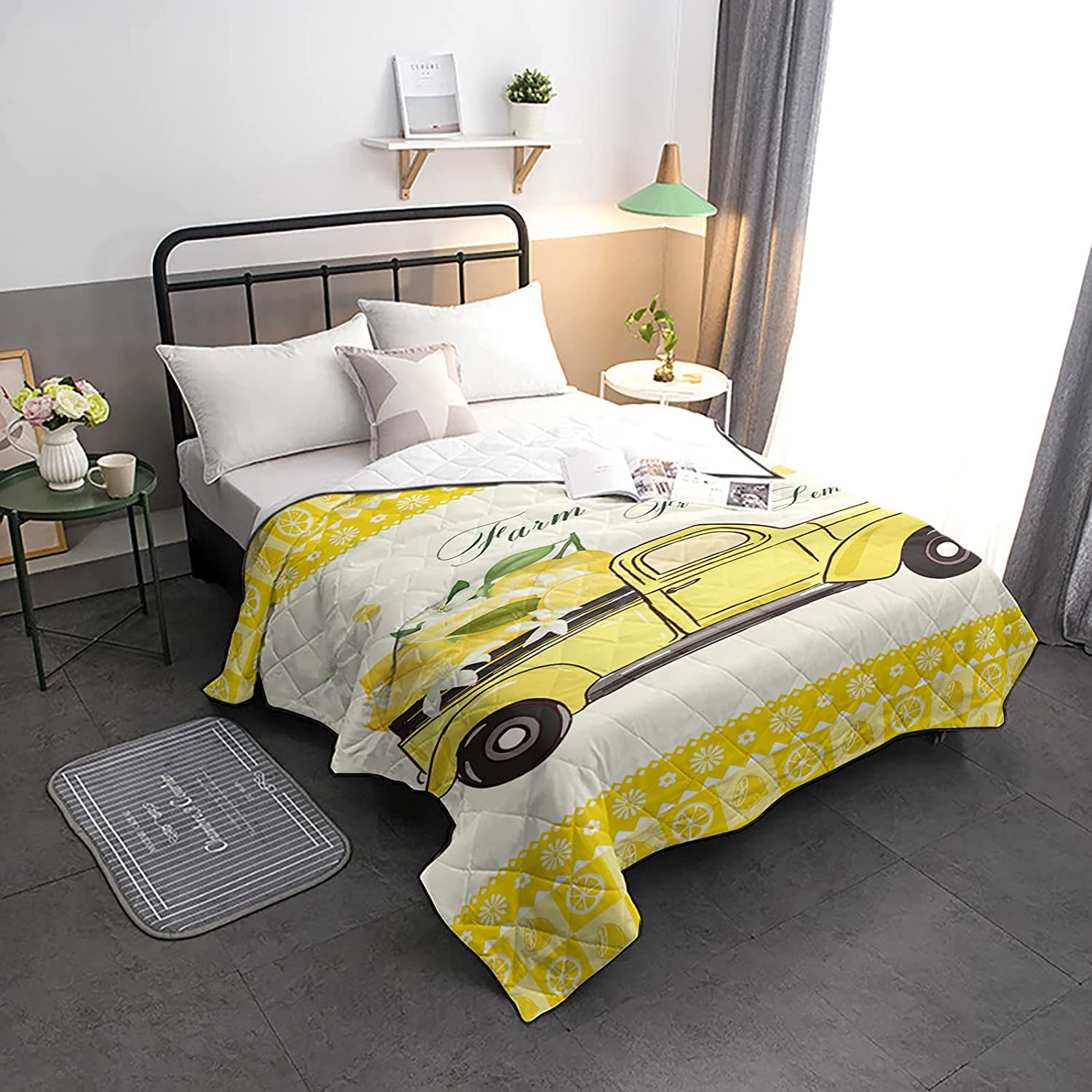 HELLOWINK Bedding Comforter Duvet Lighweight Twin Size-Soft Cheap mail order sales SEAL limited product Qu