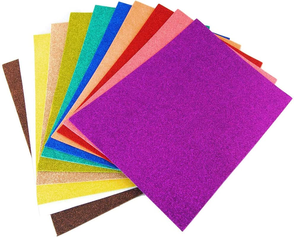Glitter Foam Sheets Arts and Ranking TOP5 Gold Directly managed store 13