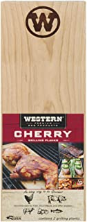 Western Premium BBQ Products Cherry Grilling Planks,  2 pack
