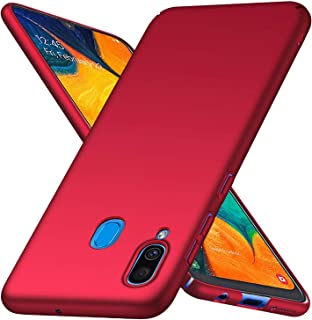 PICKQIU Case For HTC U11 Eyes, Bumper Shockproof Shell Anti-Scratch Protective Case Back Cover Slim Hybrid Rubberised Hard Case, for HTC U11 Eyes -Red