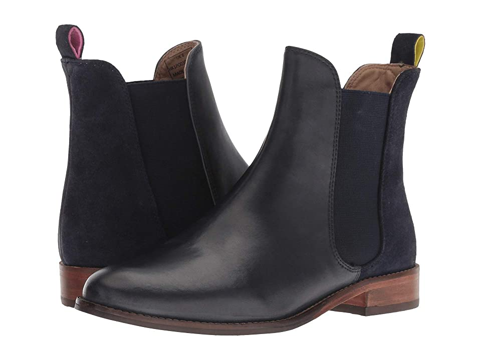 Joules Leather Chelsea Boot (Navy) Women