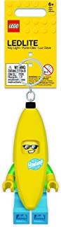 LEGO Banana Guy Key Light - Minifigure Key Chain with LED Flashlight