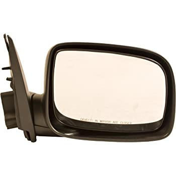 Passengers Power Side View Mirror Textured Replacement for Chevrolet GMC Isuzu Pickup Truck 21996377