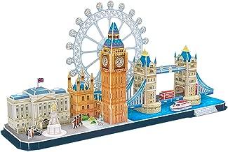 CubicFun 3D Puzzle London Cityline Architecture Building Model Kits Collection Toys for Adults and Child, MC253h