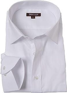 シャツスタイル(shirt style)ワイシャツ メンズ おしゃれ 黒 ビジネス ドゥエボットーニ/ysh-1003