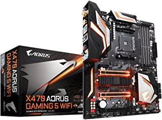 Gigabyte - Placa base X470 AORUS GAMING 5 WIFI 4DDR4 HDMI M.2 ATX
