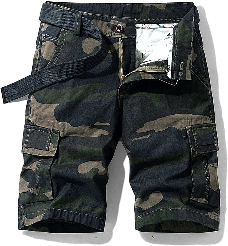 Zutty Summer New Cotton Cargo Shorts Men Casual Multi