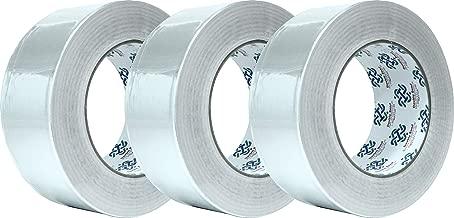 "Aluminum Foil Tape 5003, 1.88""x50 yds, 2.7mil, Aluminum HVAC Tape, Aluminum Duct Tape, Silver Tape, 3-Pack"