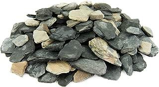 black slate stones for garden