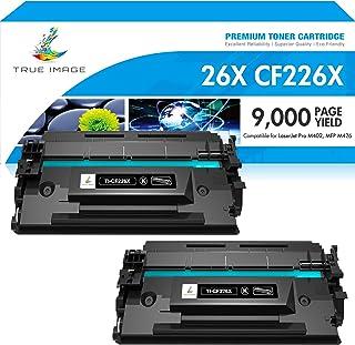 True Image Compatible Toner Cartridge Replacement for HP 26X CF226X 26A CF226A Laserjet Pro M402n M402dn M402 M426 M426fdn...