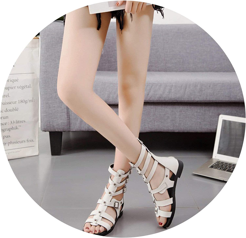 Jhdnhse Women Sandals Summer Buckle Gladiator Sandals Women Hollow Out Ladies Sandals shoes Sandalias women