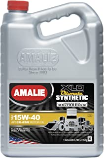 Amalie XLO Ultimate Synthetic Blend 15W-40-4/1Gal case