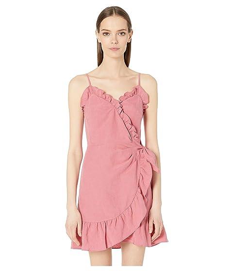 Rebecca Taylor Sleeveless Linen Wrap Dress