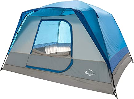 Toogh 5-6 Person Camping Tent Waterproof Backpacking...