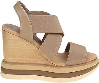 Luxury Fashion | Paloma Barceló Women FILIPINASTAUPE Beige Fabric Wedges | Spring-summer 20