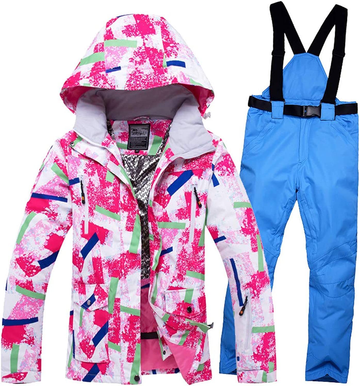 Ski Suits Men Women Jackets and Pants Winter Skiing Set Windproof Waterproof Breathable ski Suit
