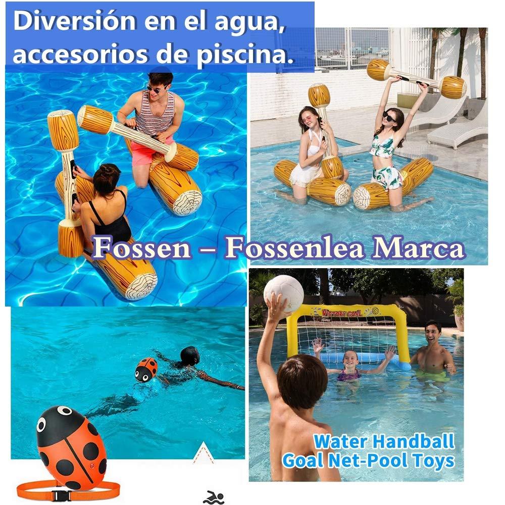 Fossenlea Canoa Hinchable Inflable Flotante Juguetes de Piscina ...