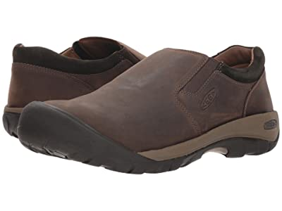 Keen Austin Casual Slip-On (Chocolate Brown/Black Olive) Men