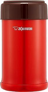 ZOJIRUSHI 象印 不锈钢保温闷烧杯闷烧罐 750ml 番茄红 SW-JA75-RV