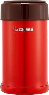 象印マホービン(ZOJIRUSHI) ステンレスクック&フードジャー おまかせ保温 保冷調理 保温ランチジャー 750ml トマトレッド SW-JA75-RV