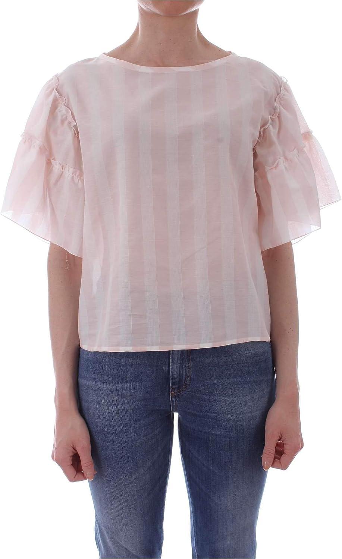 Ibluees Women's 71110692PINK Pink Viscose Blouse