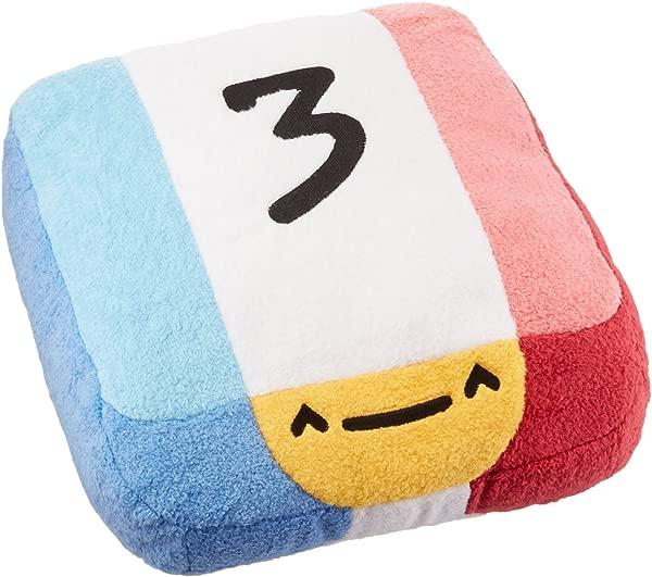 Threes Huggable Plush Pillow